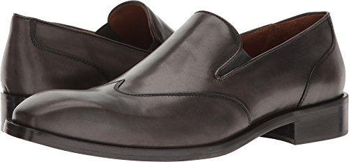 Donald J Pliner Men's Valente Slip-On Loafer, Lead Calf, 9 M US Italy Calf Mens Dress Shoes