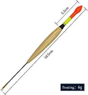 CUSHY Fish King 3PCS / Lot Float Bobbers Pêche Flotteurs Bouées Flotteur Peche pour la Carpe pêche Tackle Outils 3g-6g 5 Couleur Pesca Acesorios: Violet