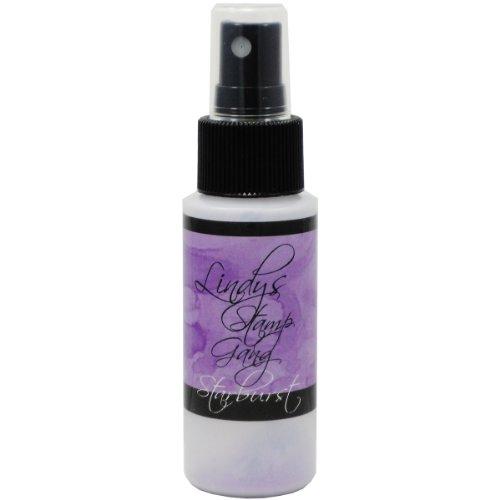 Lindy's Stamp Gang Starburst Spray Paint, 2-Ounce Bottle, French Lilac Violet (Violet Starburst)