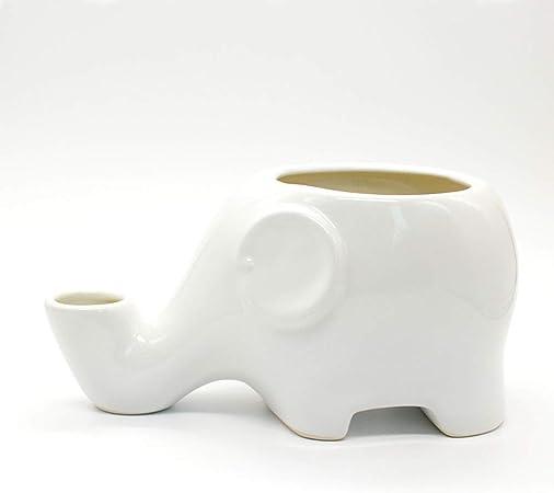 comment chercher paquet à la mode et attrayant luxe LIUQIAN Modèle de Pot en céramique modèle d'éléphant en ...
