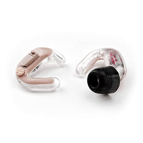Empower ACTIVE Hearing Amplifier - PAIR - Both Ears - All Digital - Unique In The Ear Design - Volume Control - Background Noise Reduction - 4 Programs - Almost Invisible