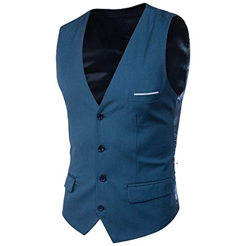 Essentiel Slim Robe Mode Gilet Mens Fit Ge Blau Patchwork Plus Meeres La Mariage Anz Taille De Suit Nouveau Vest wqtgpR