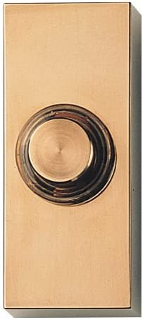 Brass Honeywell RPW302A1007//A Wired Illuminated Surface Mount Push Button Large