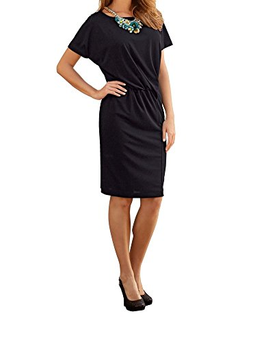 Kleid Gr 36 Jersey Marken Gr Gr 42 46 schwarz 0516143717 5xIax1