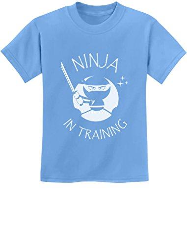 California Maternity T-shirt - TeeStars - Ninja in Training - Cool Children Clothing - Funny Kids T-Shirt 2T California Blue