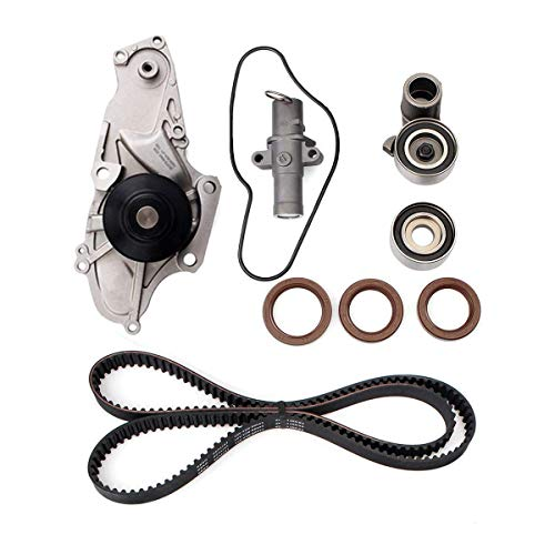 - Engine Timing Belt Kit with Water Pump for 2003-2017 Honda Accord Crosstour Pilot Odyssey Ridgeline Acura MDX RDX RL TL TSX ZDX Replace # TCKWP329 TKH-002 TKH002