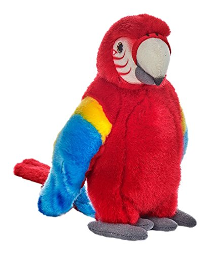 National Geographic Lelly Plush, Red Tropical Parrot