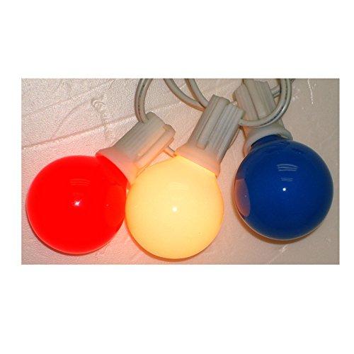 Globe Lites R/W/B 10ct - Globe Ace