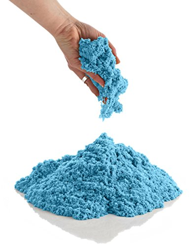 CoolSand 2 lb. Refill Package, Kinetic Play Sand For All Ages - Patented Formula  (Blue)
