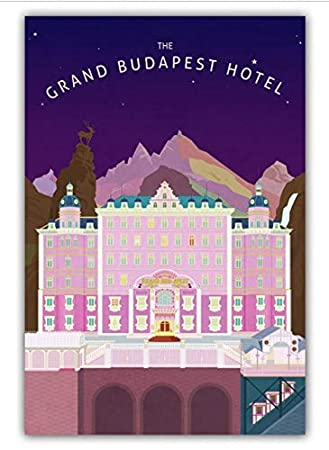 tgbhujk The Grand Budapest Hotel Movie Wall Art Wall Decor ...