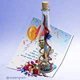 Birthday Cheers Message in a Bottle