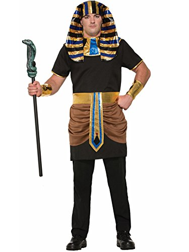 Forum Men's Pharaoh Costume, Multi, One Size (Male Couple Halloween Costumes)
