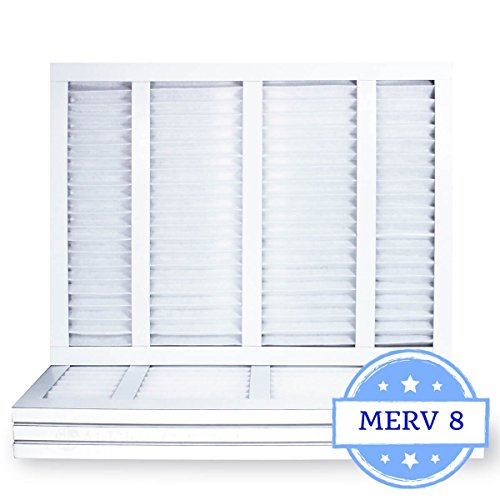 16-3/8x21-1/2x1 Air Filter, Pleated, MERV 8 (Case of 4) Fits Listed Models of Carrier, Bryant & Payne