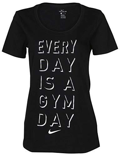 6dc4b47a729c Nike Women s Everyday is A Gym Day T-Shirt-Black-XL