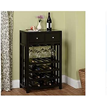 Amazon.com: Wine Cabinet | This Beautiful Modern Black
