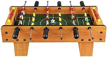 Pkjskh Fútbol de mesa for todas las edades 6 y mayores 6 filas Juego de fútbol de futbolín Juego de mesa interactivo de padres e hijos Futbolín Juguete de madera Mesa de
