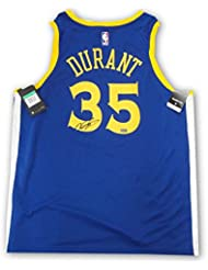 4dc0821b2 Kevin Durant Signed Autographed Golden State Warriors Swing Man Jersey  Panini
