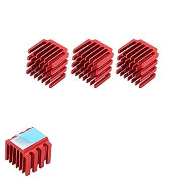 ILS - Disipador de Calor de Aluminio para Impresora 3D (3 Unidades ...
