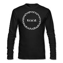 LESN Men Tool Rock Band Music Tour Logo Tshirt Long Sleeve