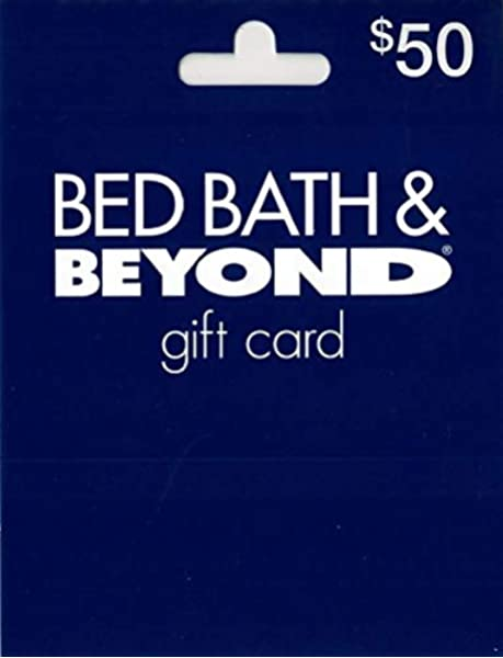 Amazon Com Bed Bath And Beyond Gift Card 50 Gift Cards