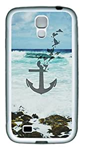 Beach Background Anchor Theme Hard Back Cover Case For Samsung Galaxy S4 I9500 Case