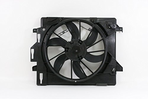 - Dual Radiator and Condenser Fan Assembly - Cooling Direct For/Fit CH3115157 CH3115157 08-16 Dodge Grand Caravan Chrysler Town & Country