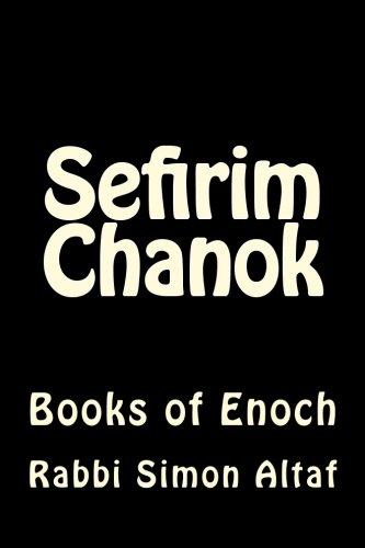 Download Sefirim Chanok: Books of Enoch pdf epub