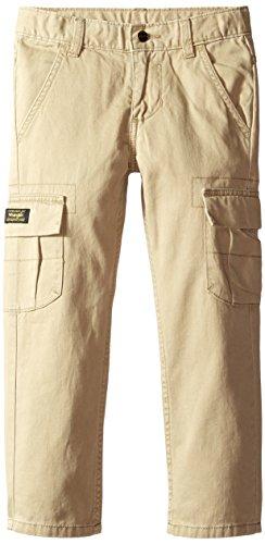 Cargo Beige (Wrangler Big Boys' Authentics Classic Cargo Pant, Desert, 10)