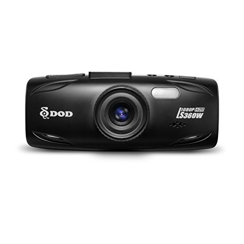 DOD TECH LS460W Sony Exmor Powered Full HD Dash Camera Dashcam with WDR Technology & GPS Logging (Black)