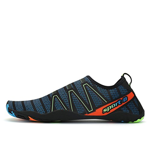 Dark Aqua Shoes Swim Shoes Slategrey Pool Surf Voovix Men Dry Water Beach Quick Women Barefoot qzApO
