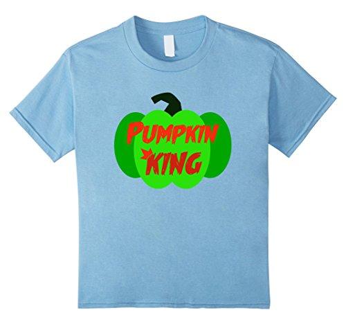 Kids Pumpkin King Shirt | Halloween Shirts for Kids, Toddler 4 Baby Blue