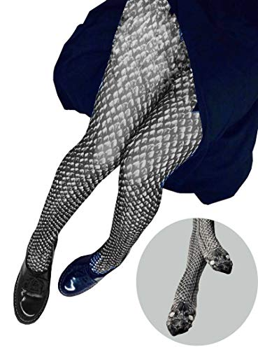 Puedizux New Scary Simulation Snakeskin Print Panty Hose Skinny Funny Tights Socks Yoga Pants