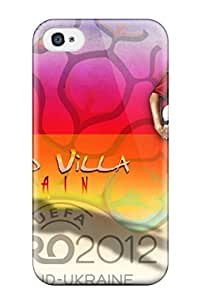 For Iphone 4/4s Protector Case David Villa Football Player Phone Cover