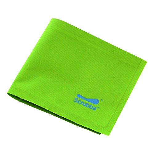Scrubba Weightless Wallet - wasserfeste und ultraleichte Geldbörse, Reise-Portemonnaie mit RFID-Blocker Kreditkarten Schutz, dünn, flach und ideal für Camping, Sport und Reisen
