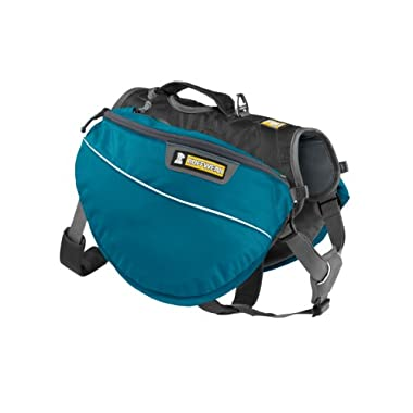 Ruffwear Approach Dog Backpack, Medium, Pacific Blue