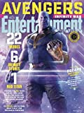 Entertainment Weekly Magazine (March 16 2018) Avengers Infinity War Thanos Cover 8 of 15