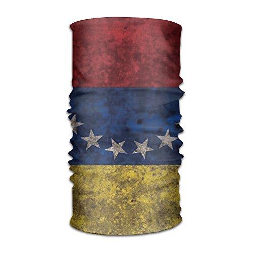 QGbird Unisex Venezuela Retro Flag.png Headscarf Helmet Liner Head Wrap Scarf One Size Great Gifts For Men Women