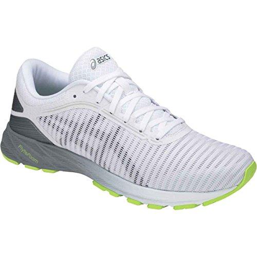 Asics Herren Dynaflyte 2 Schuhe White/Black/Stone Grey