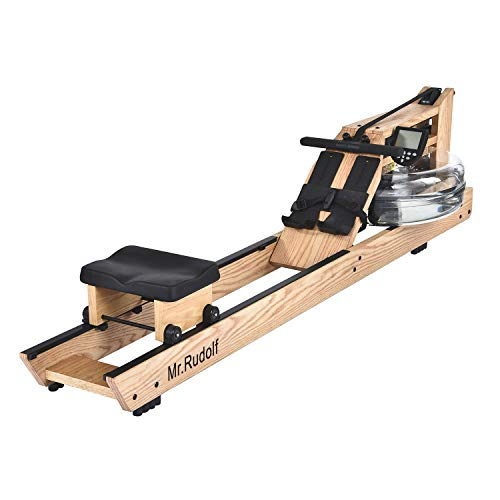 Mr. Rudolf Oak Wood Water Rowing Machine