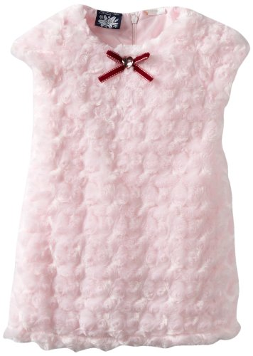 So La Vita Baby Girls' Swirl Fur Dress