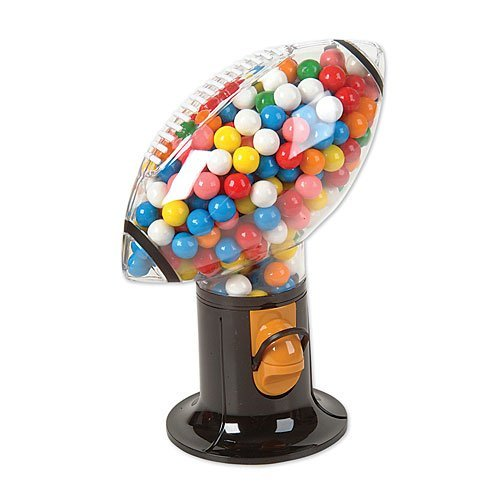 Football Shaped Gumball Machine
