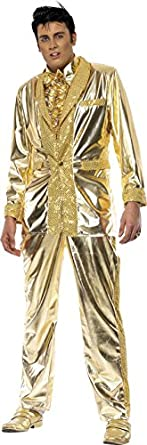 60s -70s  Men's Costumes : Hippie, Disco, Beatles Elvis Fancy Dress Costume Mens (Music) $82.70 AT vintagedancer.com
