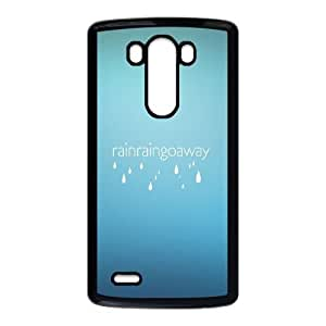LG G3 Cell Phone Case Black Rain Rain Go Away GY9077805