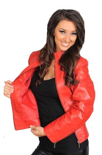 Red Jacket A1fashiongoods Red A1fashiongoods Women's zBnBU