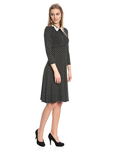 Vive Maria Bella Italia Damen Kleid Schwarz