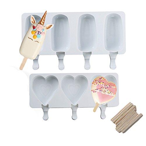 ice cream bar mold silicone - 7