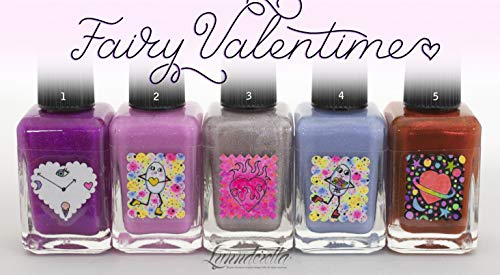 Lynnderella Valentines Day One-of-a-Kind Nail Polishes Group 4 ()