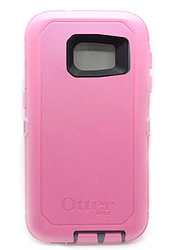 Rugged Protection OtterBox DEFENDER SERIES Case for Samsung Galaxy S7 (Fits Galaxy S7 Only) - Bulk Packaging - (DEEP BLUE GREY/PINK)