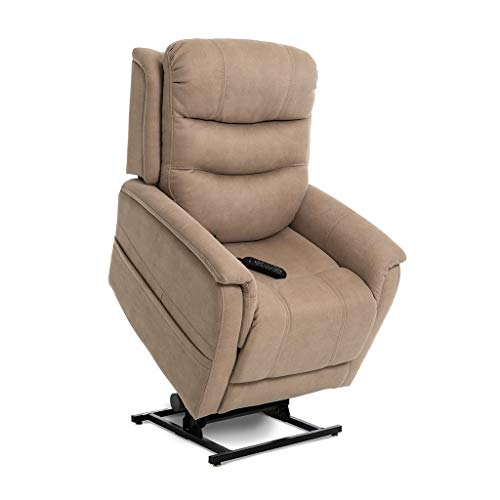 (Pride ViVaLift Sierra v.2 Infinite Lay Flat Lift Chair (PLR970M) with Inside Delivery and Setup Option (Stonewash Dune, Inside Delivery and Setup))
