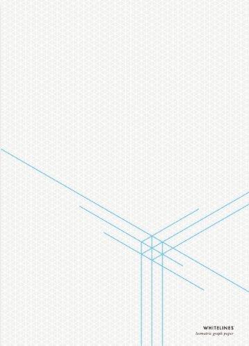 Whitelines Orange Glue A4 3-D Dimension Notepad